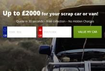 Car scrap value calculator UK
